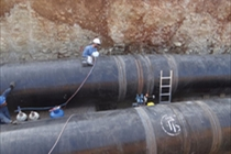 Spiral Welded Steel Pipes Installation